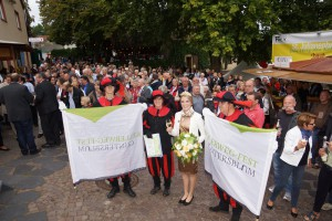 Eröffnung Kellerweg-Fest 2014