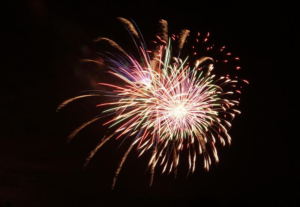 Feuerwerk Kellerweg-Fest